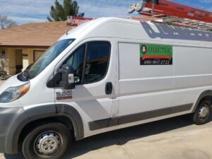O'Lectric Commercial Electrician Mesa Truck